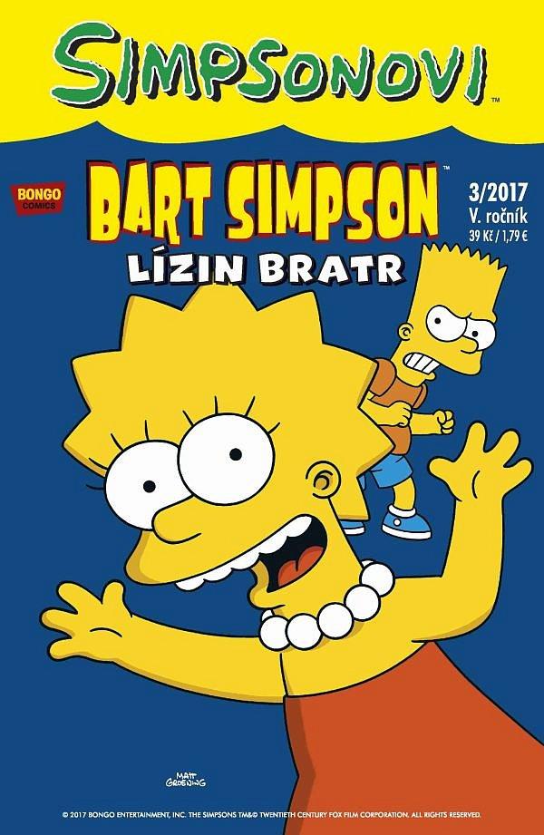 Soutěž o 3x komiksový magazín – Simpsonovi: Bart Simpson 3/2017: Lízin bratr