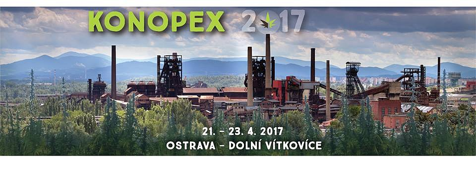 Soutěž o vstupenky na Konopex Ostrava 2017