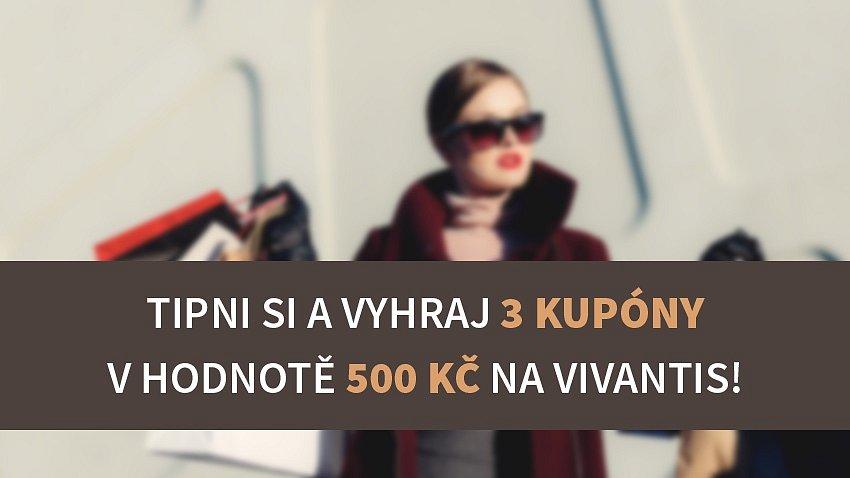 ROZDÁVÁME 3x500 KČ NA NÁKUP