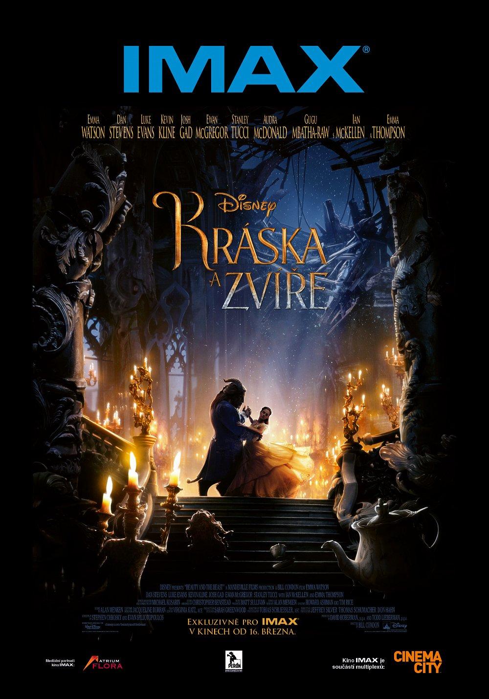 Soutěž o lístky do kina IMAX na film Kráska a zvíře