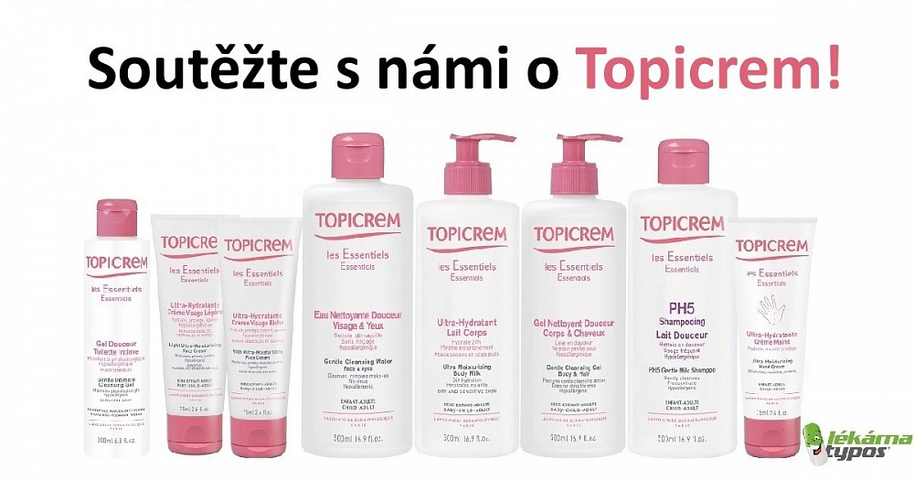Soutěž o 5x Topicrem PH5 Jemné šampónové mléko