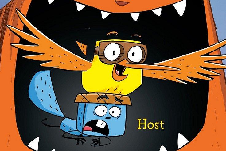 Vyhrajte vtipné komiksové dobrodružství Pták a Veverčák na útěku!