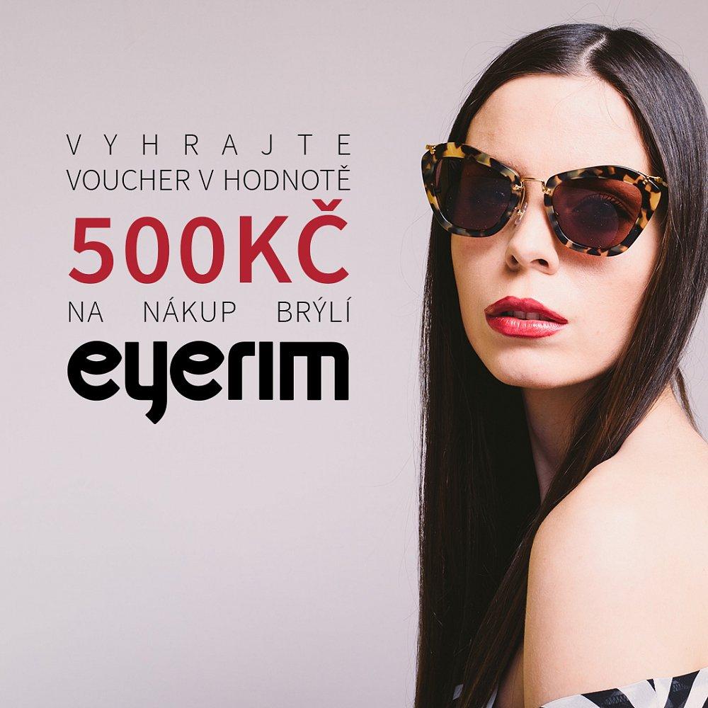 Soutěžte o dárkový poukaz v hodnotě 500 Kč na Váš nákup na Eyerim.cz