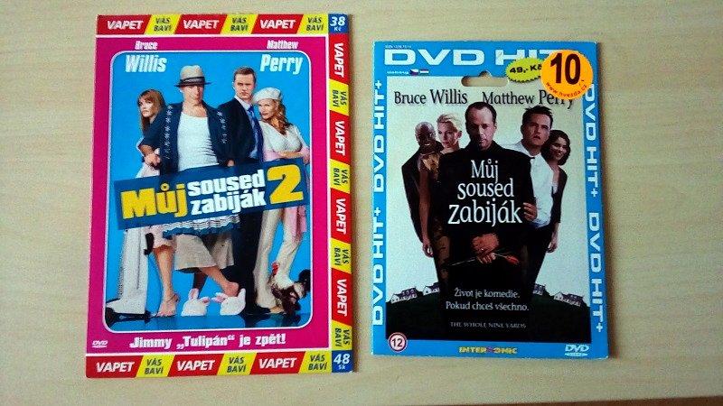Soutěž o DVD Můj soused zabiják a DVD Můj soused zabiják 2