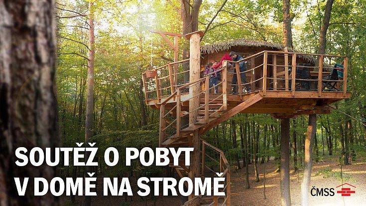 Soutěž o pobyt v domě na stromě