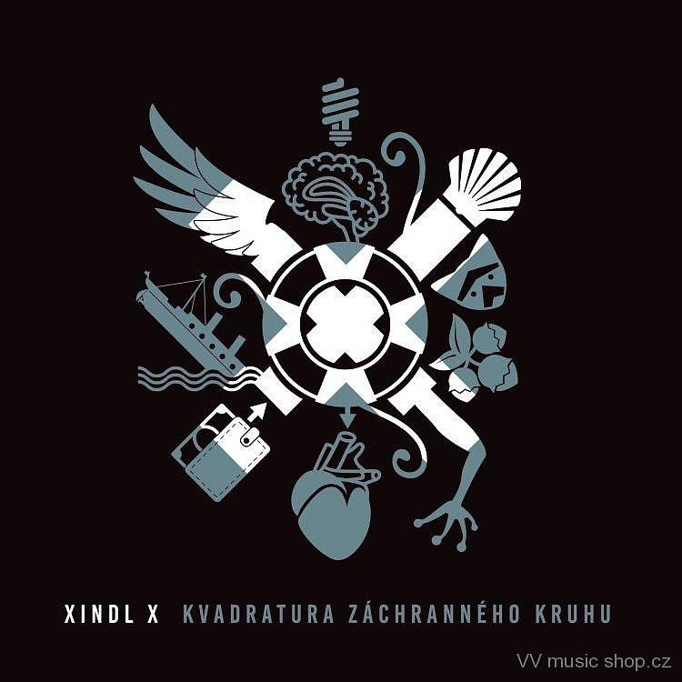 Hrajte o album na CD nosiči českého zpěváka Xindl X - Kvadratura záchranného kruhu.