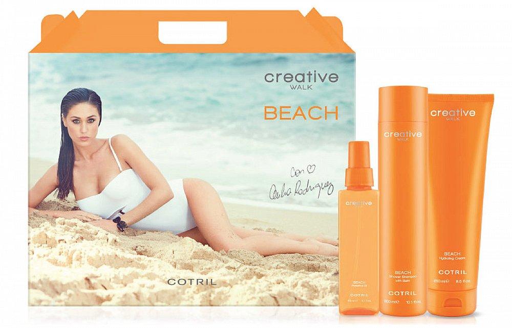 Soutěž o letní sadu vlasové kosmetiky Cotril Beach a plážové vybavení