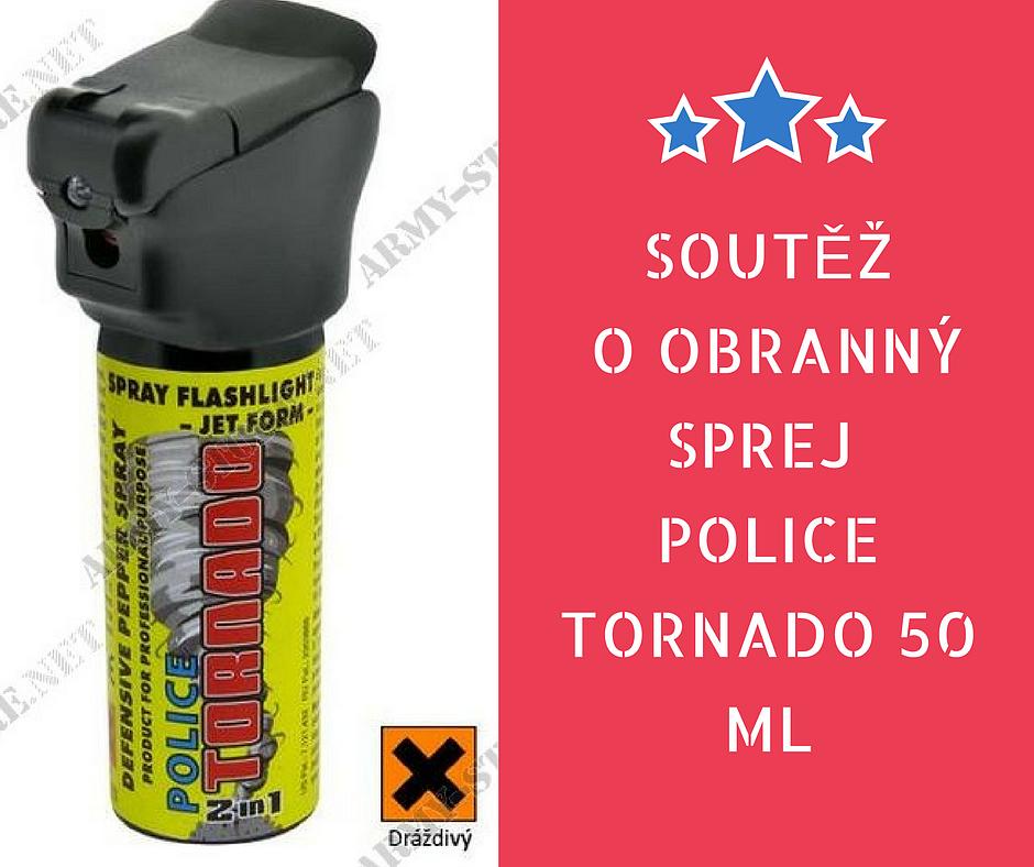Soutěž o obranný sprej Tornado