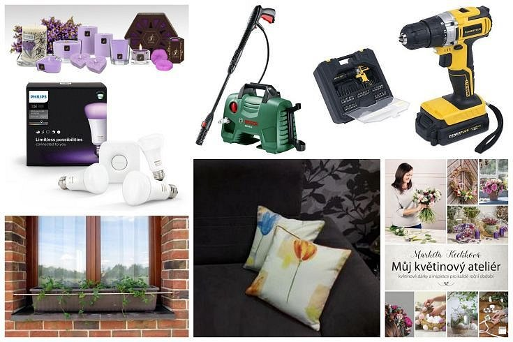 Jarní soutěž o vysokotlaký čistič, akušroubovák a další ceny