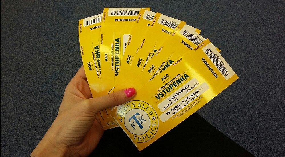 O vstupenky na fotbal FK Teplice