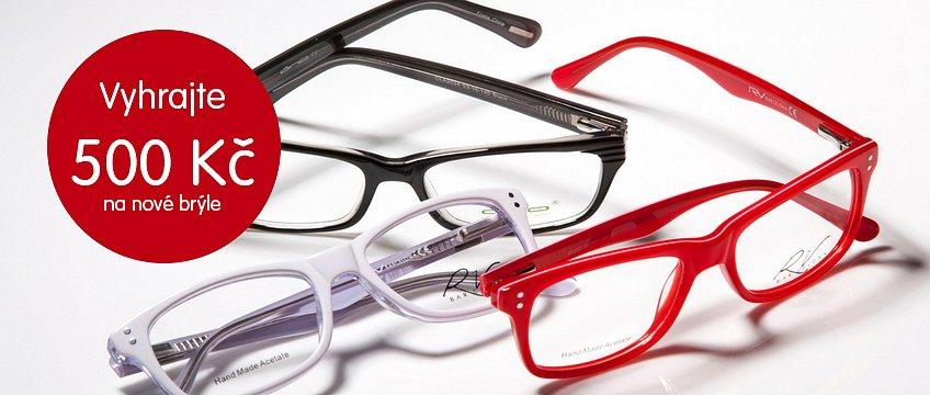 Vyhrajte 500 Kč na nové brýle