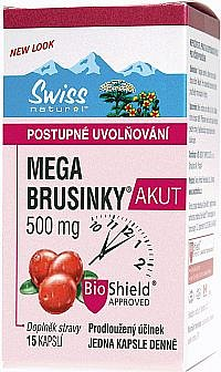 SOUTĚŽ o 5 balíčků přípravků Swiss s brusinkami a probiotiky