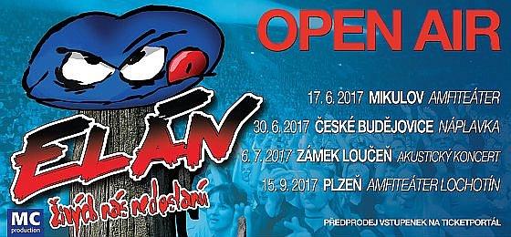 Soutěž o vstupenky na Open Air Tour 2017 skupiny Elán