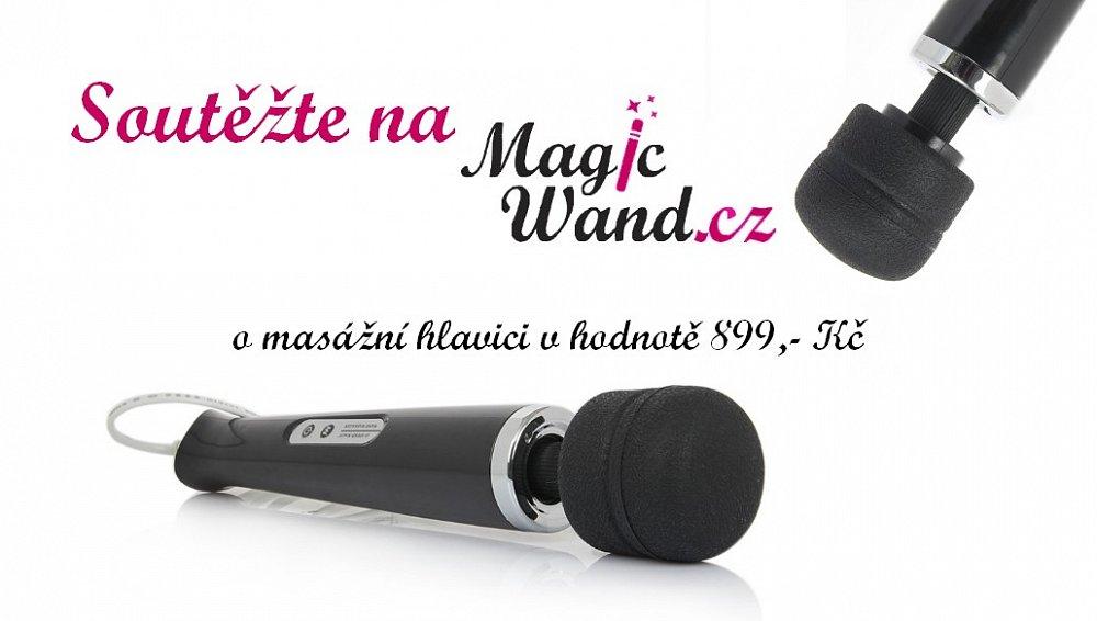 Soutěž o masážní hlavici MagicWand