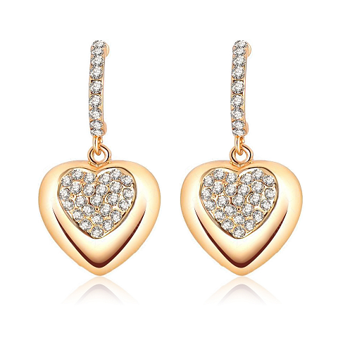 Soutěž o nádherné pozlacené náušnice se zářivými krystaly Swarovski Elements!