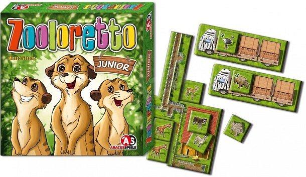 SOUTĚŽ o dětskou deskovou hru ZOOLORETTO Junior