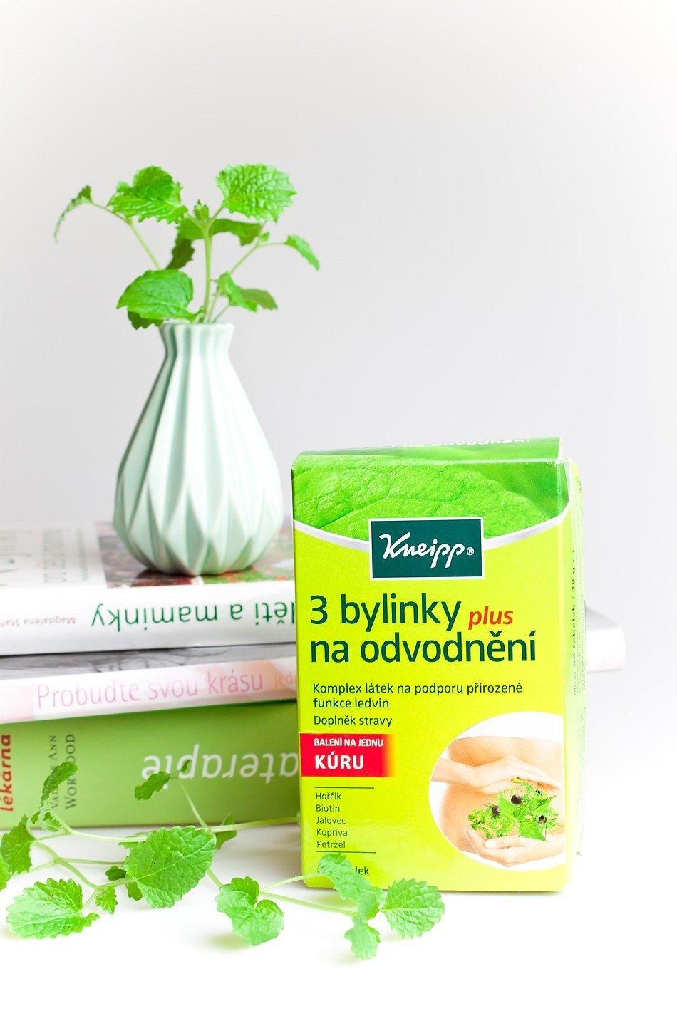 3 odvodňující bylinky Kneipp