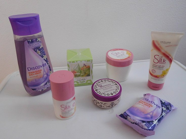 Soutěž o balíček kosmetiky Oriflame