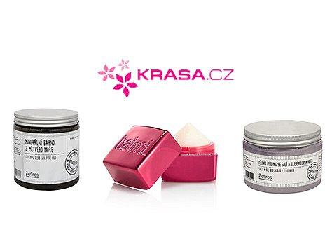 Hrajte s námi o balíček kosmetiky v hodnotě 500 Kč od značky Krasa.cz