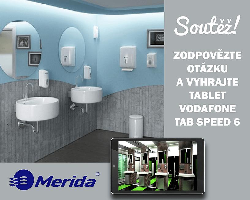 Soutěž s Meridou HK o tablet Vodafone Tab Speed 6