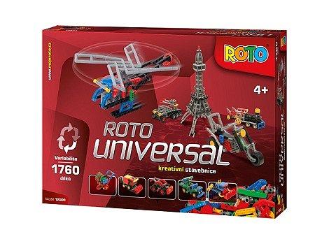 Velká soutěž o 3x stavebnici ROTO - UNIVERSAL v celkové hodnotě 6 000 Kč!