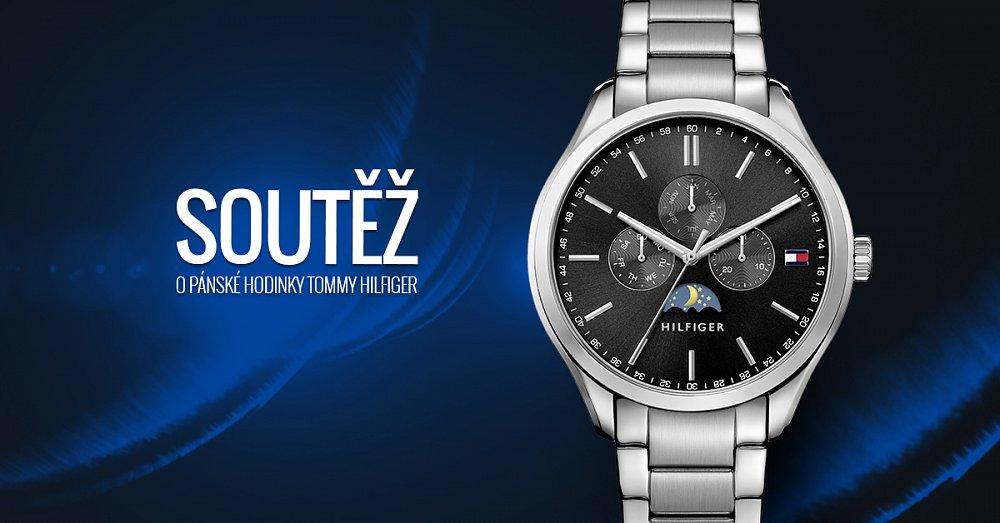 Soutěžte s námi o pánské hodinky Tommy Hilfiger