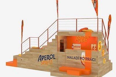 SOUTĚŽ: Aperol představuje nový bar