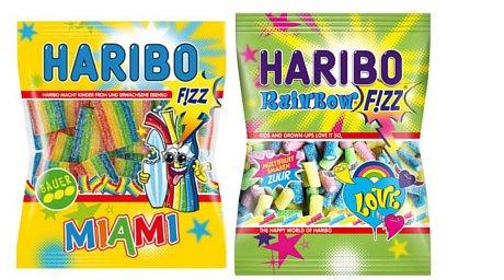 Bonbony Haribo pro tři soutěžící!