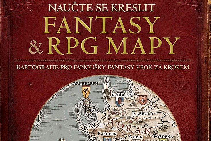 Vyhrajte knihu Naučte se kreslit fantasy a RPG mapy!