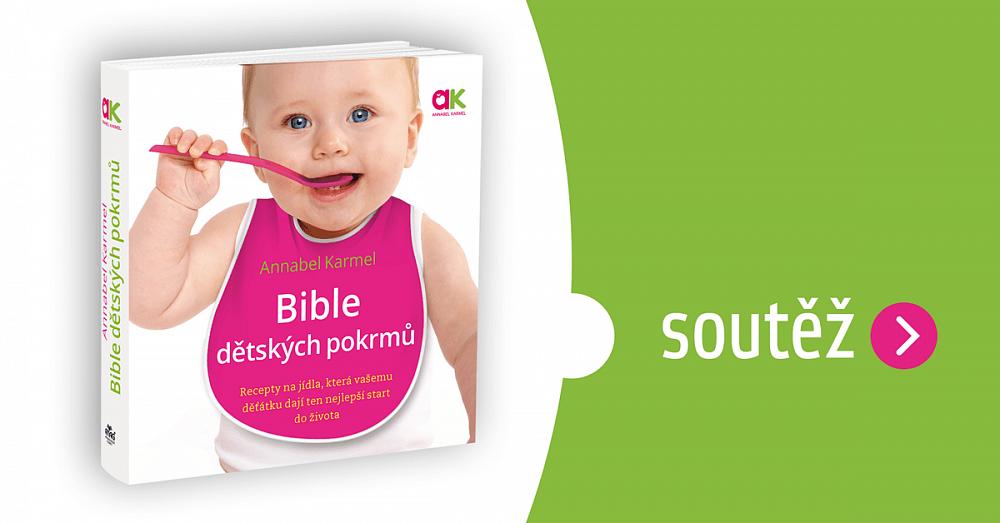 Soutěž o knihu Bible dětských pokrmů