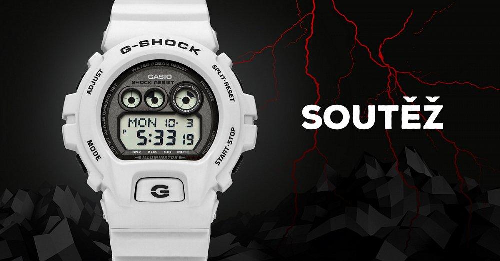 Vyhrajte luxusní pánské hodinky Casio GD-X6900LG-8