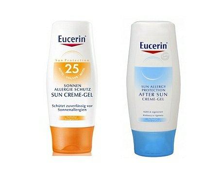 Soutěž o 10 balíčků kosmetiky Eucerin proti sluneční alergii