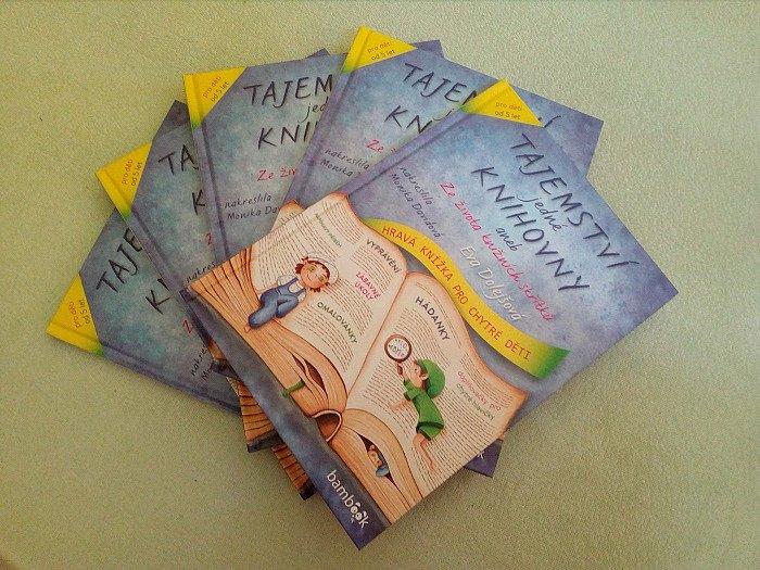 Vyhrajte skvělou dětskou knihu Tajemství jedné knihovny