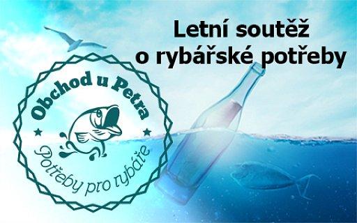 Letní soutěž o rybářské potřeby