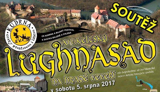 SOUTĚŽ o vstupenky na LUGHNASAD na hradě Veveří