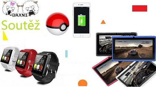 Streamuj a vyhraj 1. Tablet 2.Power bank 3. Smart hodinky