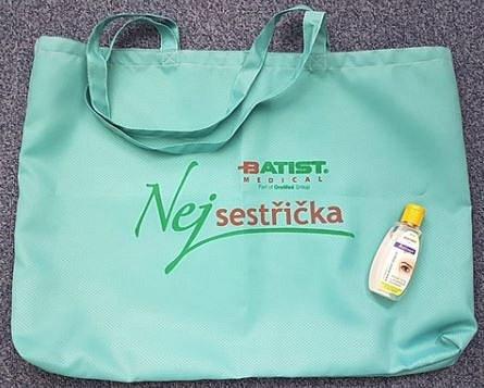 Plážová taška + Batisept gel