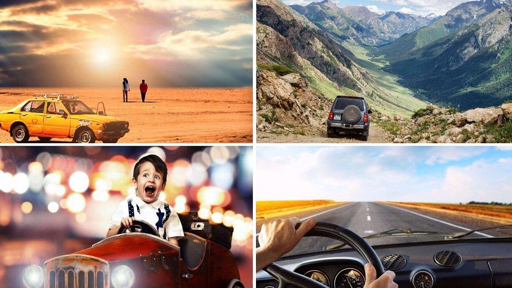 Prázdniny za volantem