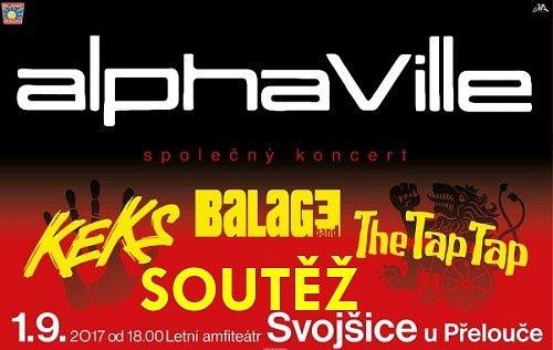 SOUTĚŽ o vstupenky na koncert ALPHAVILLE