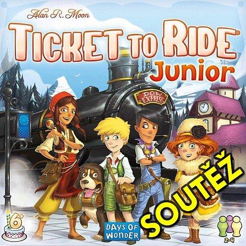 SOUTĚŽ o dětskou hru TICKET TO RIDE Junior