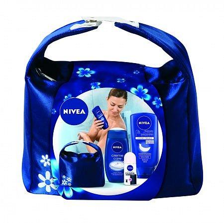 Soutěž o kosmetickou tašku Nivea Showermilk