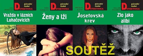 SOUTĚŽ o čtyři původní české detektivky z nakladatelství MOBA