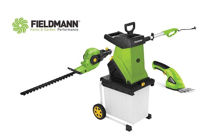 Soutěž o zahradní techniku FIELDMANN