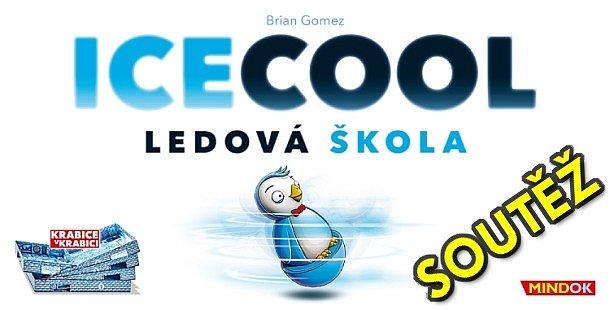 SOUTĚŽ o cvrnkací hru ICECOOL - LEDOVÁ ŠKOLA