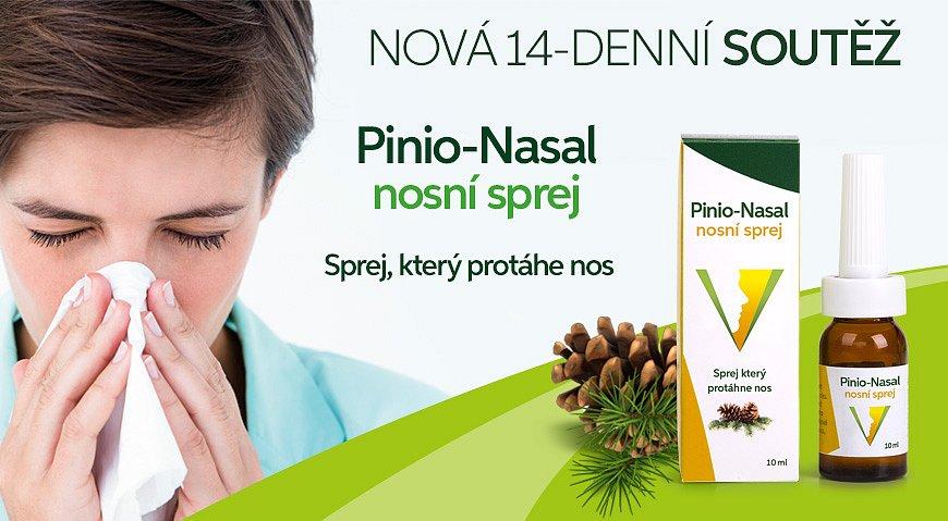 Soutěž o Pinio-Nasal nosní sprej