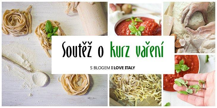 Soutěž o kurz vaření italské kuchyně