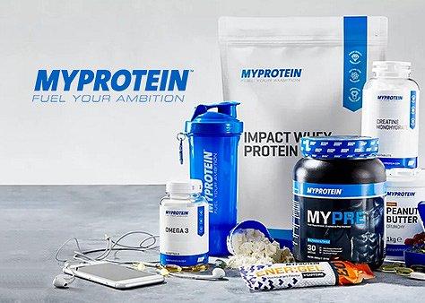 Hrajte o poukaz v hodnotě 1000 Kč na nákup produktů od Myprotein.cz