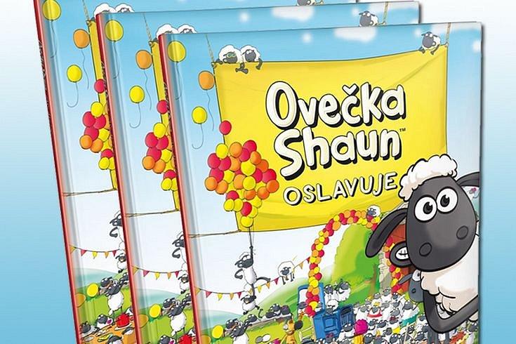 Vyhrajte tři knihy Ovečka Shaun oslavuje