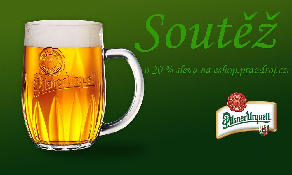 Soutěž o 20% slevu na Plzeňské pivo