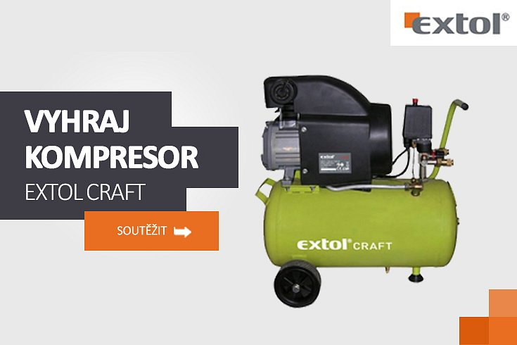 Soutěž o kompresor EXTOL